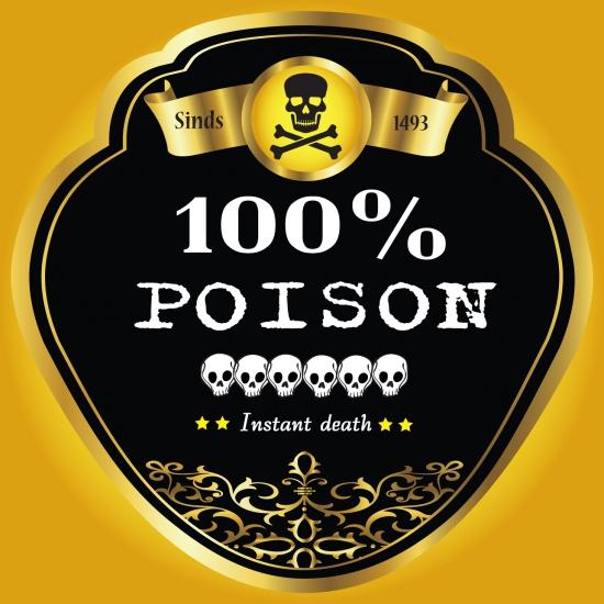 Flessen etiket 100 procent gif