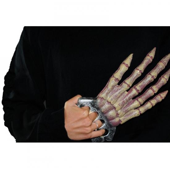 Horror hand van een skelet