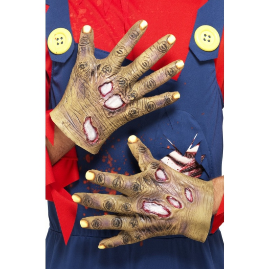 Rottende zombie handen