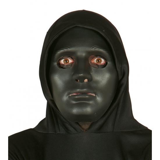 Zwart grimeermasker voor volwassenen