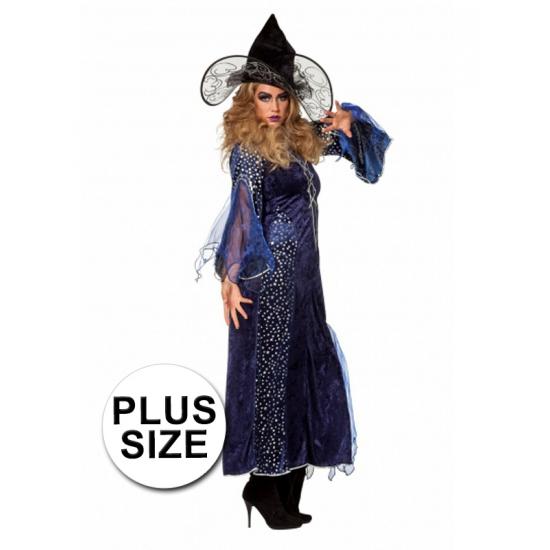 Grote maten heksenkleding dames