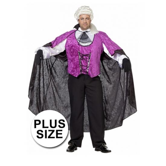 Halloween vampier pak grote maat