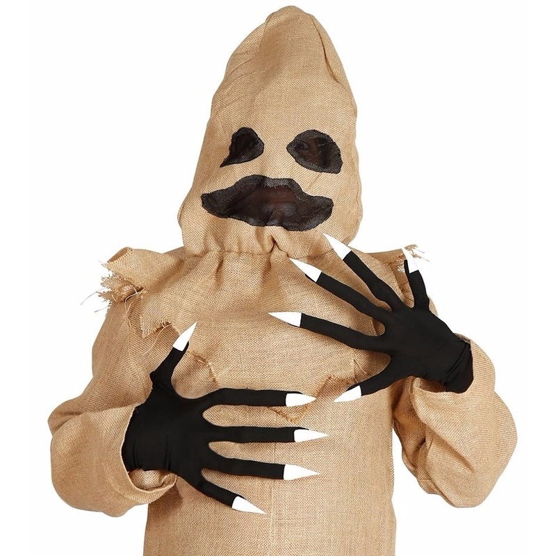 Horror handschoenen met lange vingers