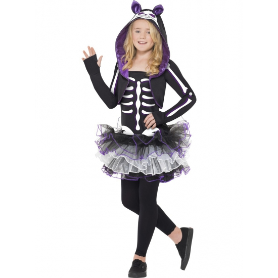 Katten skelet pakje voor meisjes