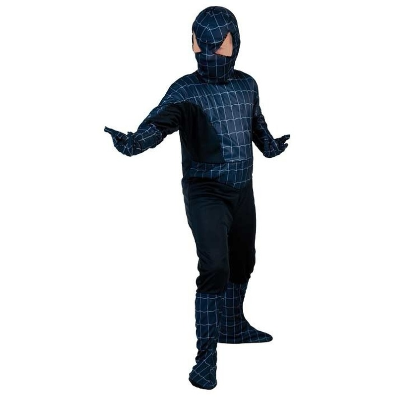 Kinder spinnenheld verkleedoutfit