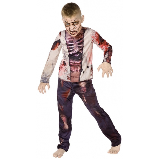Kinder zombie outfit