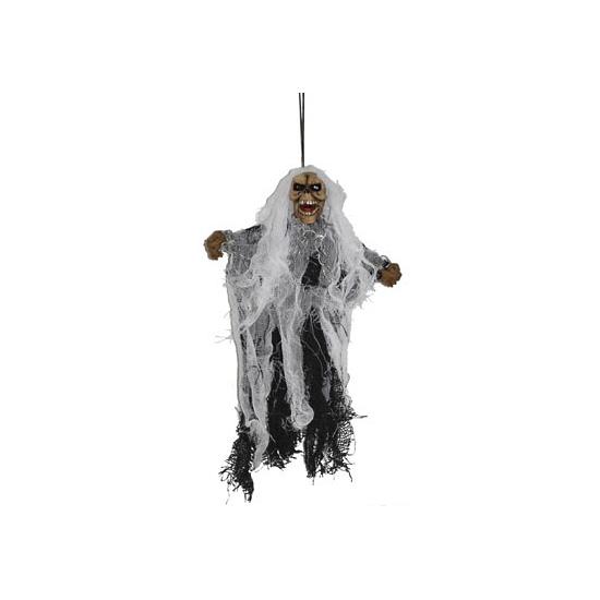 Spook decoratie pop 25 cm