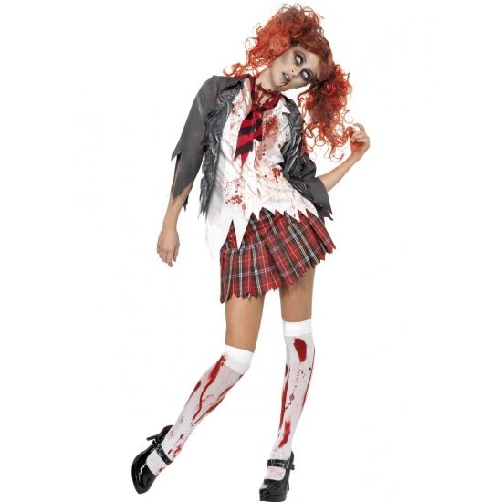 Zombie verkleedkleding voor dames