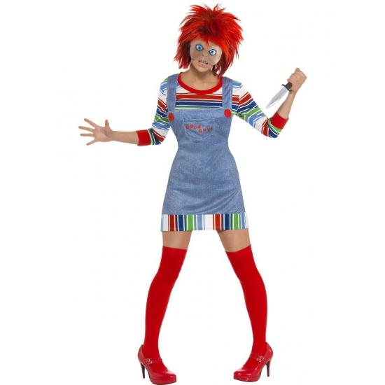 Chucky verkleed kleding dames