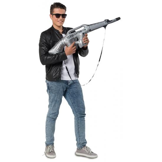 Feestartikelen opblaas machinegeweer
