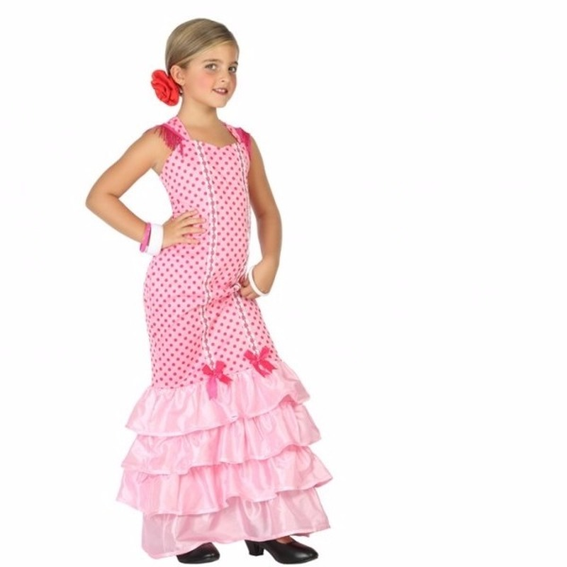 36d5248d6e91ec Halloween Flamenco danseressen jurk voor meisjes in de griezeligste ...