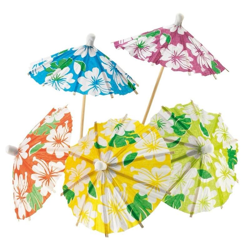 Halloween Ijs.Halloween Ijs Parasols Bloemen 48 Stuks In De Griezeligste
