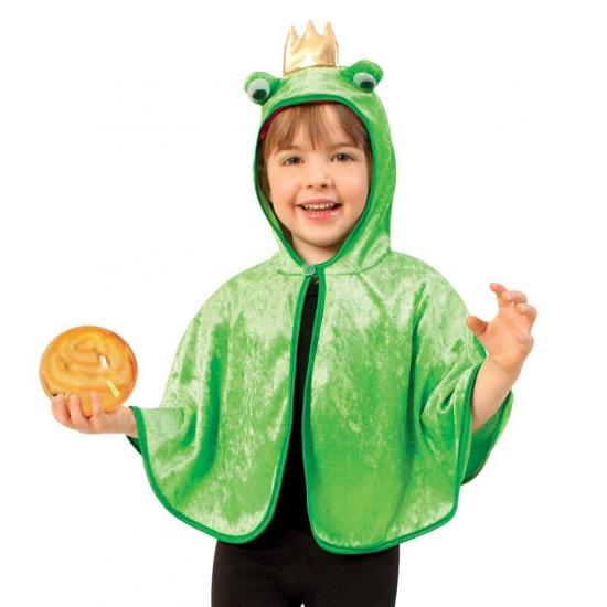 Peuter Halloween.Halloween Kikker Verkleed Poncho Voor Peuters In De