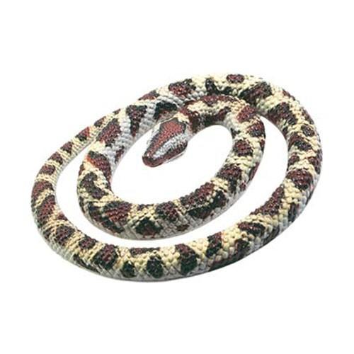 Rubberen replica slang 66 cm
