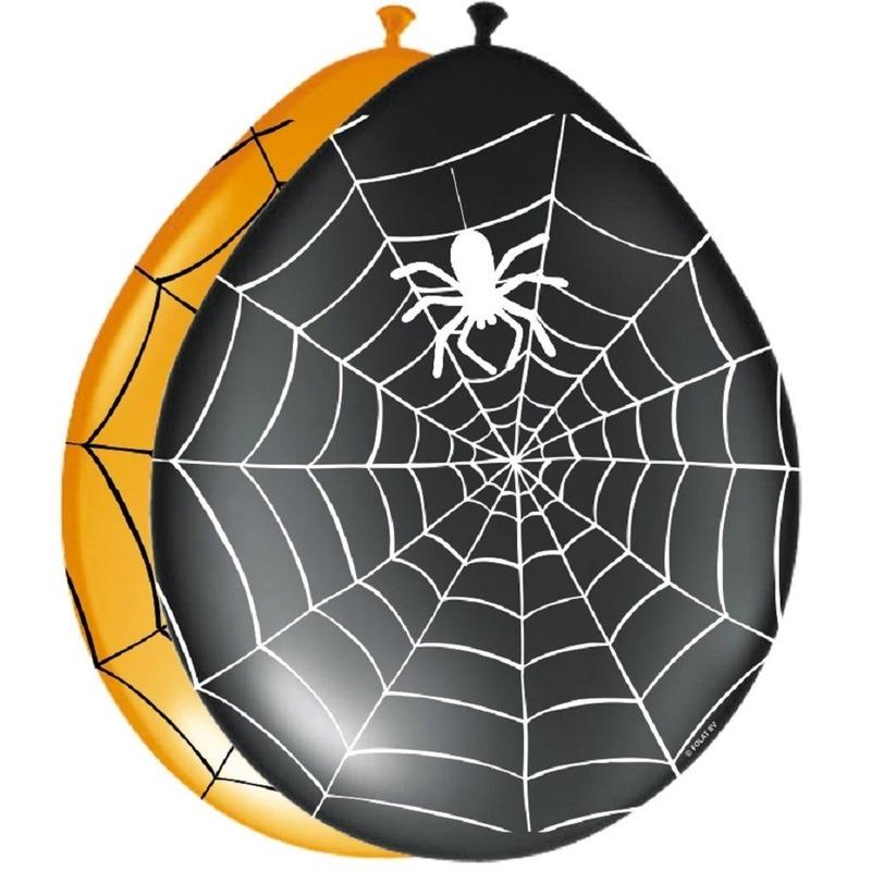 Spinnweb ballonnetjes 8 stuks