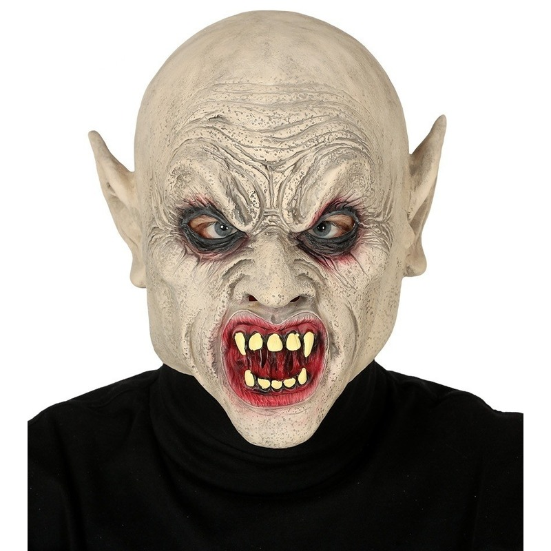 Vampier-zombie horror masker van latex